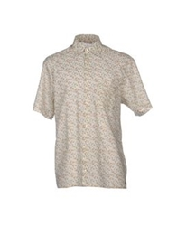 Galliano Shirts Beige