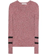 Mary Katrantzou Fontaine Sweater Red