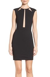 Ali And Jay Women's Mesh Inset Minidress