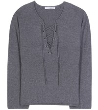 Vince Wool And Cashmere Sweater Grey