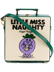 Olympia Le Tan Little Miss Naughty Shoulder Bag Green