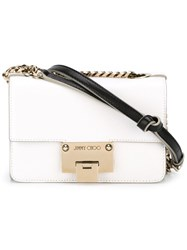 Jimmy Choo 'Rebel Soft Mini' Bag White