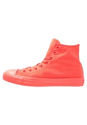 Converse Chuck Taylor All Star Hightop Trainers Bright Crimson Red