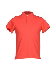Heritage Topwear Polo Shirts Men Red