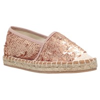 Miss Kg Desiree Espadrilles Gold Sequin