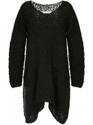 Uma Wang Oversized Knit Jumper Black