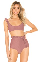 Made By Dawn Petal Top Mauve