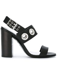 Diesel Dyelettah Sandals Black