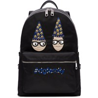 Dolce And Gabbana Black Magician Designers Dgfamily Backpack