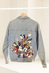 Urban Renewal Vintage Mickey Mouse Friends Denim Jacket Assorted