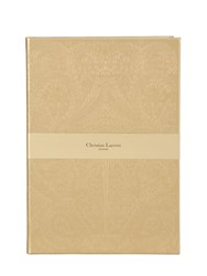 Christian Lacroix A4 Gold Embossed Paseo Notebook