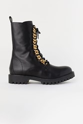 Handm H M Boots With Chains Black