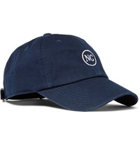 Noon Goons Embroidered Cotton Twill Baseball Cap Navy