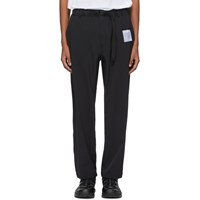 Satisfy Black Post Run And Hiking Trousers