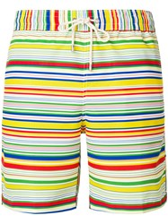 Loewe Stripe Print Swimming Shorts Multicolour