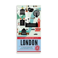 Chronicle Books City Scratch Off Map London