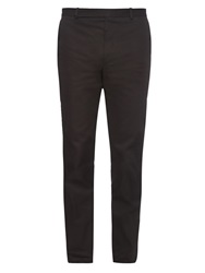Balenciaga Stretch Cotton Biker Trousers