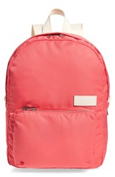 State Bags The Heights Mini Lorimer Nylon Backpack Pink Poppy