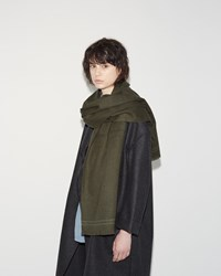 Hope Classic Scarf Khaki Green