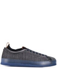 Z Zegna Low Top Sneakers Blue