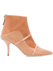 Malone Souliers Madison Ankle Boots Nude And Neutrals