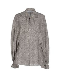 Agnona Shirts Shirts Women Grey