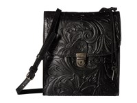 Patricia Nash Andrea Master Organizer Crossbody Black Cross Body Handbags