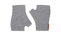 Barena Venezia Men's Wool Blend Fingerless Mittens Grey