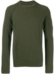 C.P. Company Cp Relaxed Sweater Green