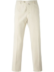 Kiton Chino Trousers Nude And Neutrals