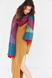 Urban Outfitters Rainbow Scarf Assorted