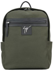 Giuseppe Zanotti Design 'Baron' Backpack Green