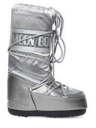 Moon Boot Glance Boots Silver