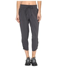 Prana Midtown Capris Coal Women's Capri Gray