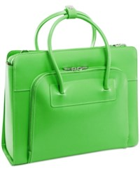 Mcklein Lake Forest Briefcase Green