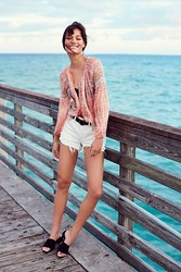 We The Free Daisy Chain Lace Short By At People