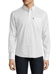 Barbour Curtis Regular Fit Button Down Shirt White
