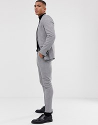 Selected Homme Skinny Suit Trouser In Grey
