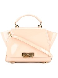 Zac Posen Eartha Iconic Soft Top Handle Convertible Backpack Nude And Neutrals