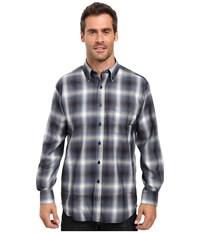 Pendleton L S Sir Shirt Blue Black Ombre Men's Long Sleeve Button Up