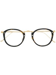 Cartier Round Frame Glasses Brown