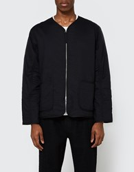 Our Legacy Liner Jacket Black Voile