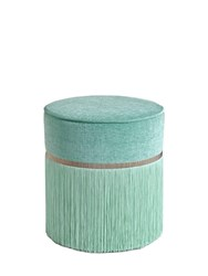 Lorenza Bozzoli Couture Plain Pouf For Lvr Blue