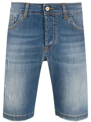 Entre Amis Denim Shorts Blue