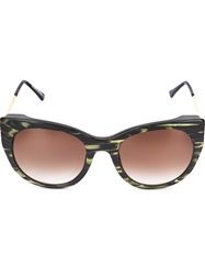 Thierry Lasry 'Bunny' Sunglasses Green