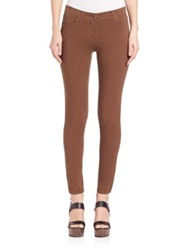 Etro Cotton Stretch Skinny Jeans Brown