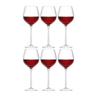 Lsa International Wine Red Wine Glass Set Of 6 For 4