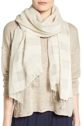 Eileen Fisher Women's Organic Cotton And Silk Scarf