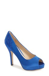 Women's Menbur 'Sanco' Peep Toe Pump 4' Heel