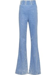 Miu Miu Loose Fit Denim Jeans Blue